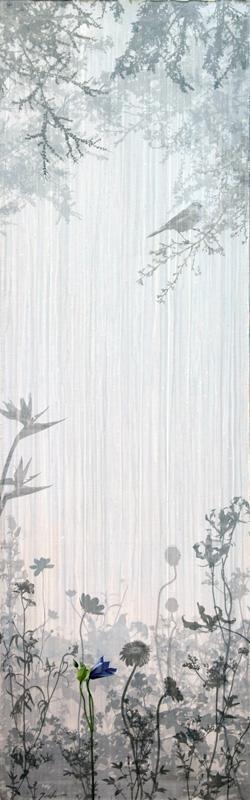 Secret Garden no.15 (In the Deep forest) 170 x 54 cm
