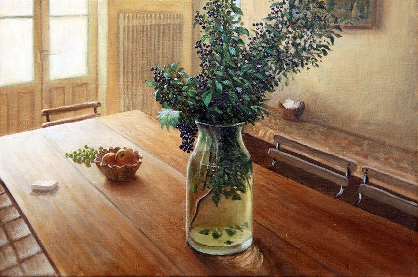 Fontainebleau テーブルの風景