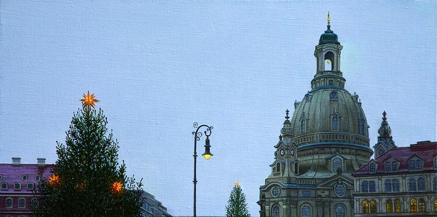 Christmas in Dresden 星を見上げて