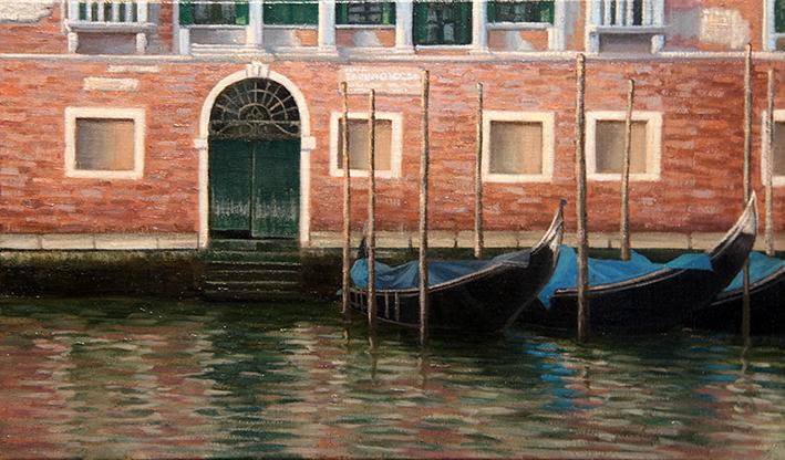 Venezia 小舟のシエスタ