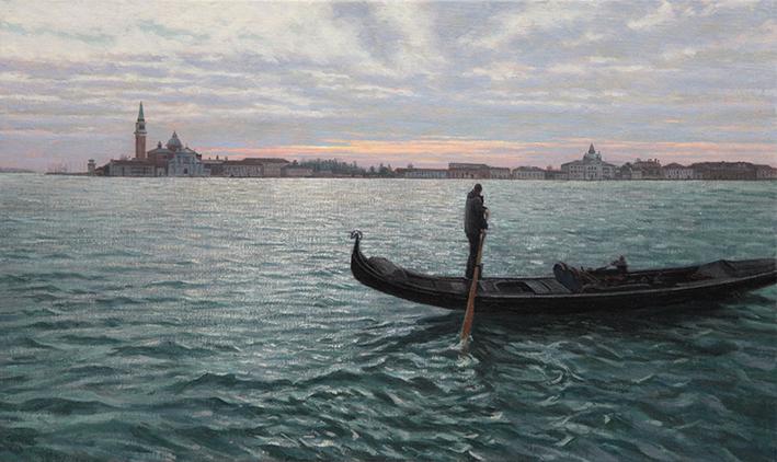 Venezia 日の出