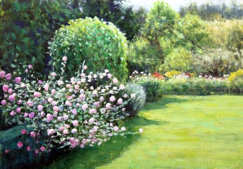 レティーロ、5月の薔薇